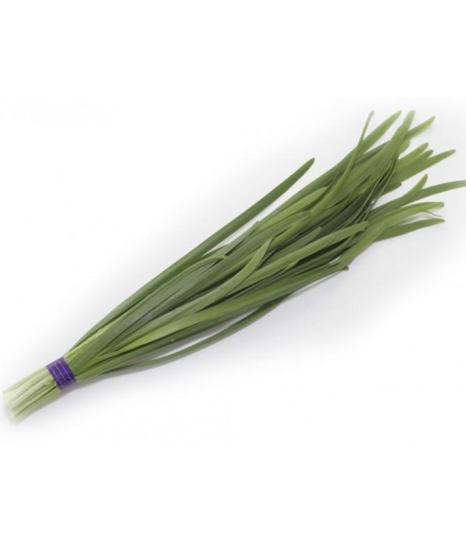 Mowing Garlic
